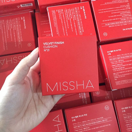 Phấn nước Missha Velvet Finish Cushion 50+